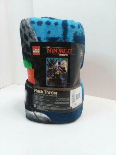 NEW Lego The Ninjago Movie Plush Throw Blanket 46in x 60in NWT