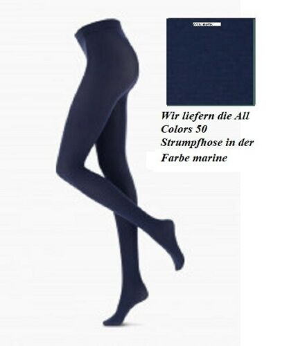 S//M = 36-40 marine Oroblu All Colors 50 Collant opaque lisse