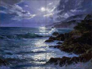 Ceramic-Tile-Mural-Backsplash-Mirkovich-Ocean-Seascape-Moonscape-Art-NMA012