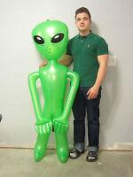 1 Inflatable Green Alien 60 Blow Up Inflate Aliens Halloween Prop Gag Gift