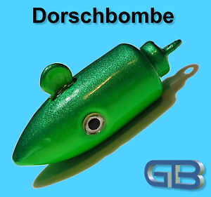 Meeresjig-Dorschbombe-25g-40g-50g-75g-100g-Jig-Bleikopf-Kopf-Flexi-Kopf
