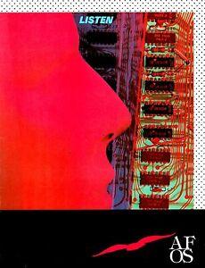 A-FLOCK-OF-SEAGULLS-1983-TOUR-OF-THE-AMERICAS-CONCERT-PROGRAM-BOOK-NMT-2-MINT