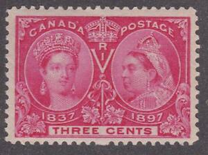 Canada-1897-53-Diamond-Jubilee-Issue-Queen-Victoria-MNH-F-VF