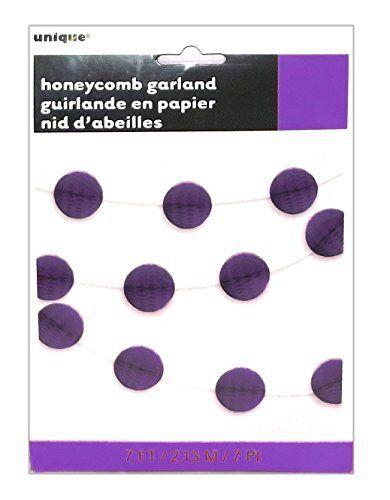 anniversaire fête 7ft honeycomb garland plage décoration de noël,