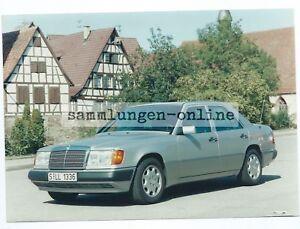 MERCEDES-400-E-Limousine-Auto-Automobil-Foto-Fotografie-Photo-Photograph