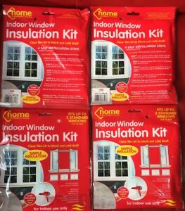 DIY WINDOW INSULATION KIT COLD DRAUGHT EXCLUDER SHRINK ...