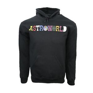 d030bca787e2 Image is loading Travis-Scott-Astroworld-logo-multicolored-Hoodie-Wish-You-