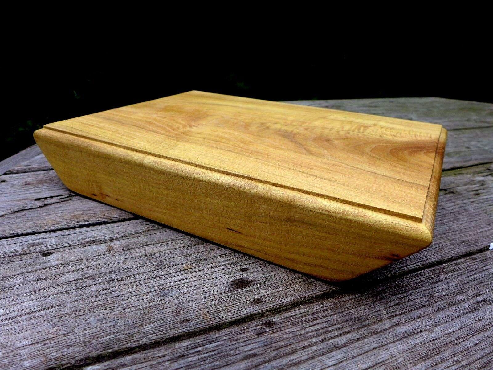 En bois servir à découper acacia Board, fabriqué à la main et fabriqué à la main un seul