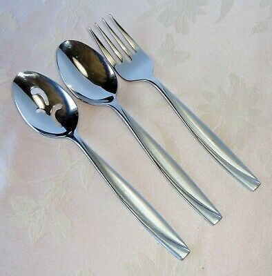 SET OF TWO Oneida Stainless CAMLYNN Serving Forks NEW