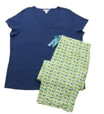 db8bfe0e390 Charter Club Women s Printed Top and Pajama Pants Set Natural Animal ...