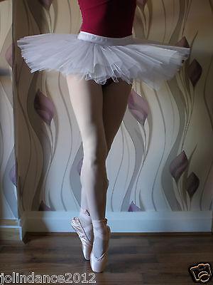 Professional adult lady girl ballet dance 4-layer hard net black practice tutu