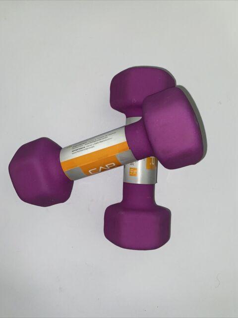 CAP Barbell Neoprene Coated Dumbbell 5lbs for sale online