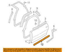Genuine GM Body Side Molding 10166786