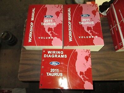 2011 FORD TAURUS FACTORY REPAIR SERVICE MANUALS WITH ...