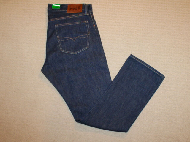 1386dcf08 Polo Ralph Lauren Mens Slim Straight 018 Blue Jeans 36 X 34 for sale ...
