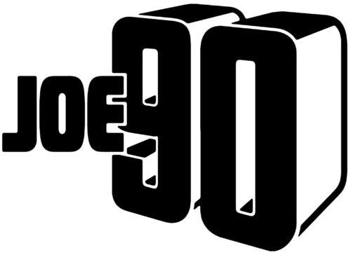 Joe 90 Gerry Anderson Vinyl Decal Sticker Car Van Laptop Tablet Wall