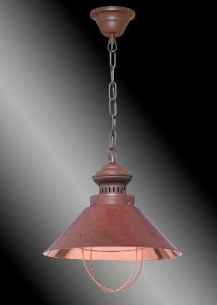 Rétro Suspensions Copper en Cuivre Plafonnier Vintage Suspension Plafonnier Cuivre Honsel 68721 db0a4f