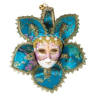 100% Kwaliteit #home Decor Masquerade Deluxe Wall Mask New Gold Trim