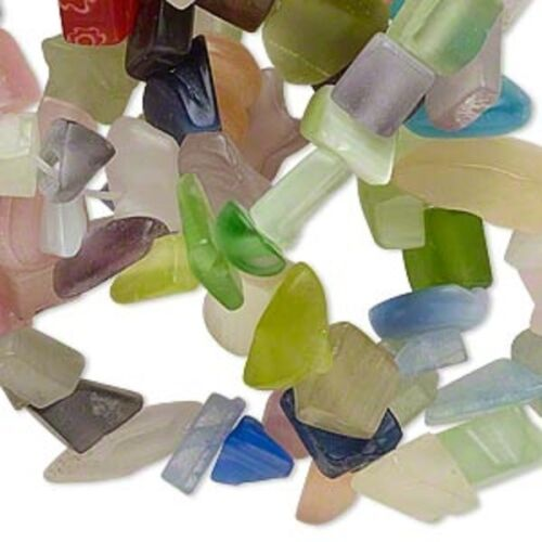 Beads GLASS CHIPS ~ Various Colors /& Sizes