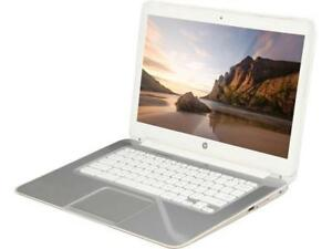 HP F7W49UA-B Chromebook Intel Celeron 2955U (1.40 GHz) 4 GB Memory 16 GB SSD 14.