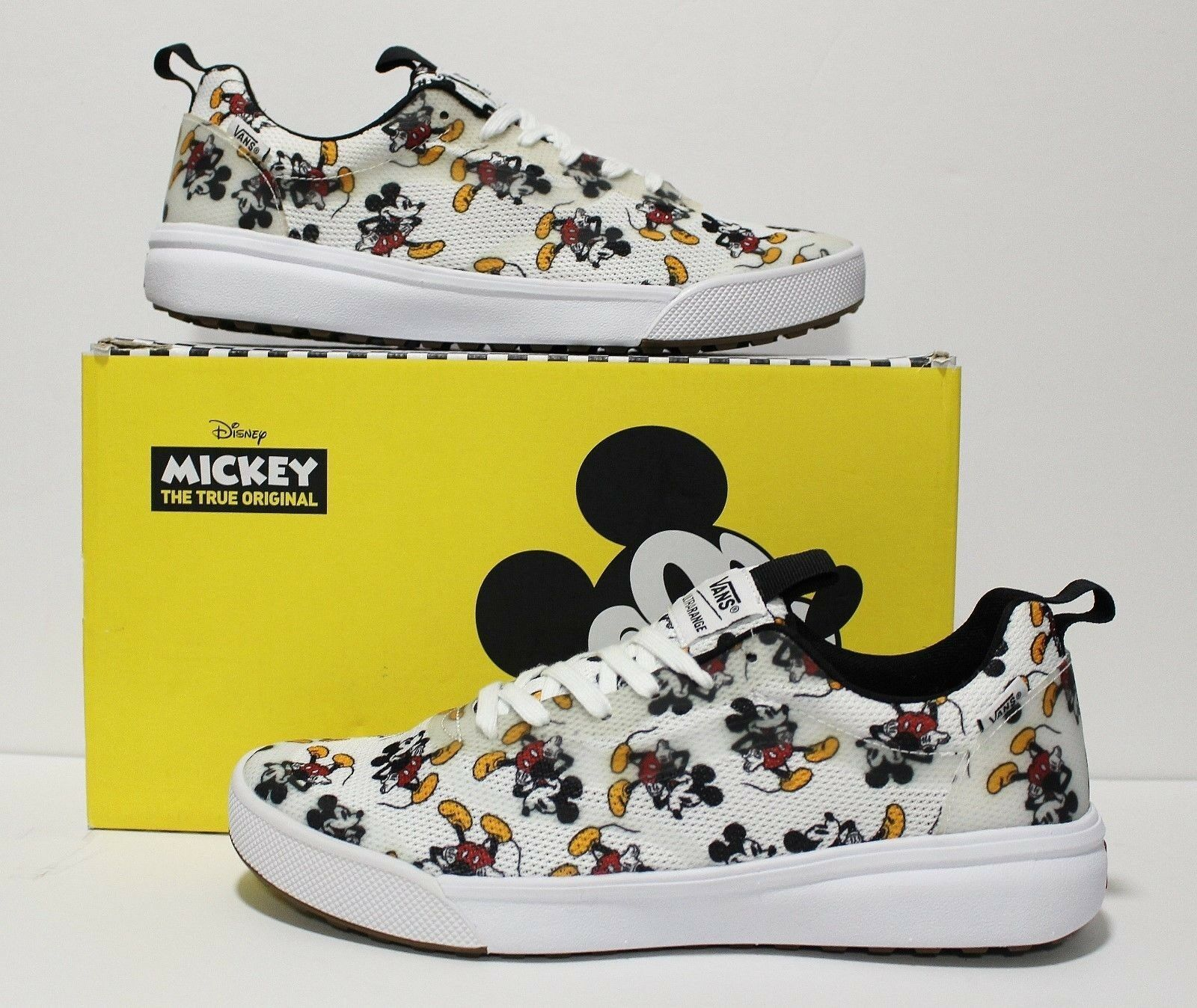 Please Read Vans X Disney Ultrarange Rapidweld Mickey Mouse Men's Size  9