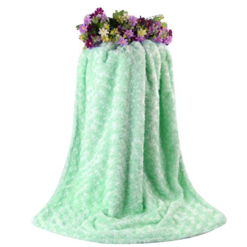 Kuscheldecke Krabbeldecke PV Rose Decke Rose Velvet Blanket Babydecke Geschenk