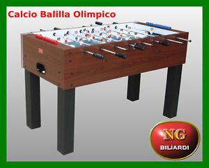Calcio-Balilla-OLIMPICO-CALCETTO-BILIARDINO-NUOVO-ROBUSTO