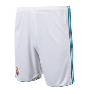 Adidas 17 18 Real Madrid Pantalones Cortos Br8705 Futbol Entrenamiento Gimnasio Pantalones Cortos Ebay