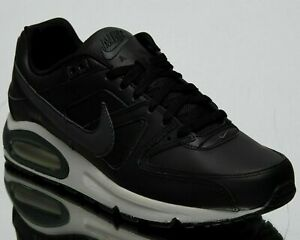 Details about Nike Air Max Command Leather New Men's Low Lifestyle Shoes Black Grey 749760 001
