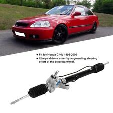 Complete Manual Steering Rack And Pinion Tierods Ball Joints For Honda Civic New