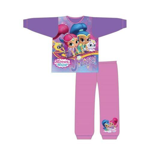 Girls Kids Shimmer and Shine Pyjamas Nightie 18 Months to 6 Years Shorts PJs
