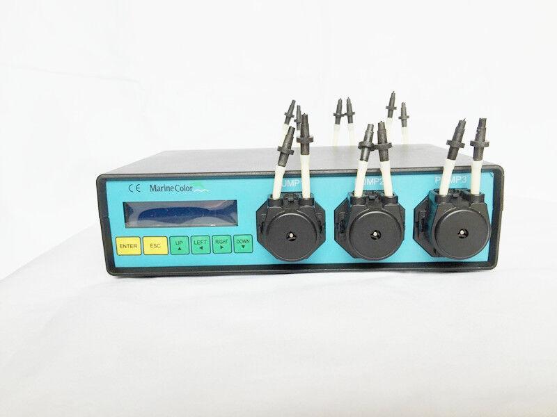 Colore Marine MCD-6 Dosage pompe péristaltique, 6 têtes de pompe de canal