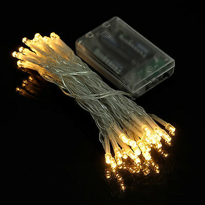 20/30/50 String Fairy Lights LED Battery Operated Party Room Wedding Decor DIY