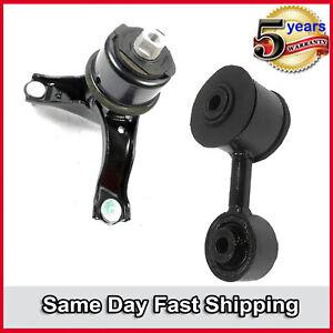 For Toyota Camry XLE Sedan 4-Door 2.4L FWD SET Engine Motor /& Torque Strut Mount