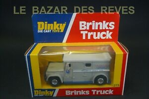 "DINKY TOYS GB. Camion transport de fonds ""Brinks truck"". Ref: 275. + Boite.(USA)"