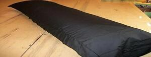 BLACK BODY PILLOWCASE FOR THE  20 X 60    BODY PILLOW  made in usa