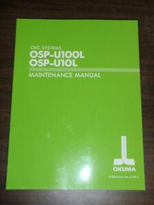 Okuma osp u10l cnc manuals array okuma cnc systems osp u100l osp u10l maintenance manual 4199 e rh ebay com fandeluxe Choice Image