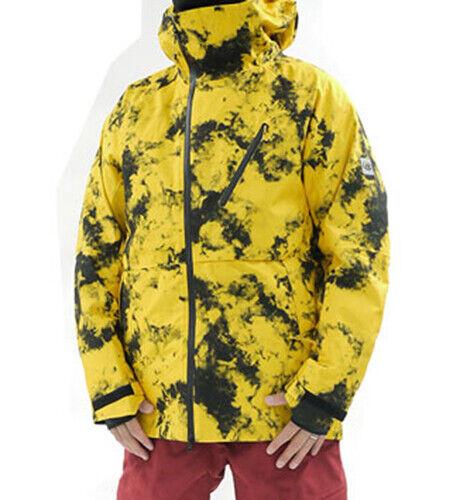 686 Glacier Hydra Thermagraph Snowboard Jacket (M) Sub Yellow M0W107-SBYL