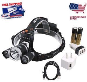 Headlamp-15000LM-XM-L-3x-CREE-LED-BORUiT-Headlight-18650-Battery-Head-Light-Lamp