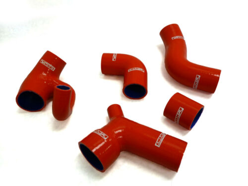 850 S70 V70 T5 T5R Volvo OBX Silicone Turbo Red Hose w//Diverter Inlet For 1996