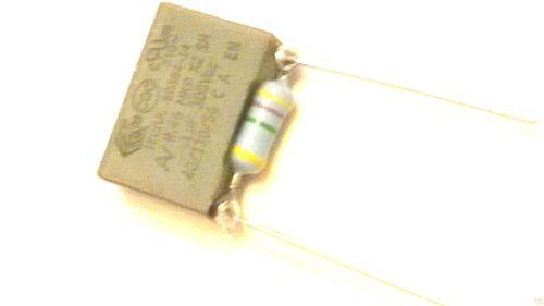 4.7 Mohm Kenwood FP700 Réparation Condensateur /& Résistance À Fixer Food Processor 100nF