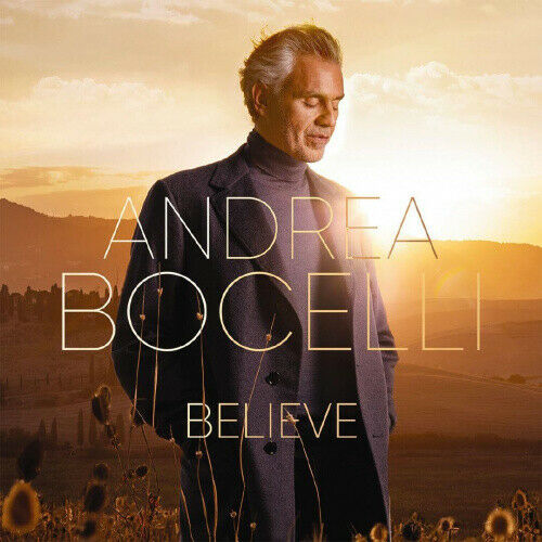 Believe CD by Andrea Bocelli 1Disc by Andrea Bocelli