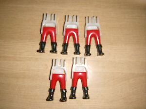botas rojas Soldados Soldados Playmobil Piernas Nordistas Medievales