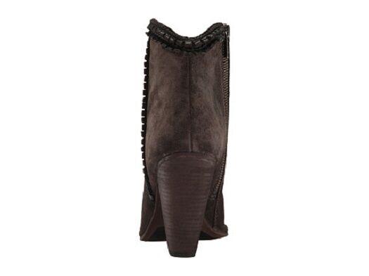 New in Box FRYE FRYE FRYE femmes Madeline Trim Short Ankle démarrageie marron Suede Taille 6 M de550a