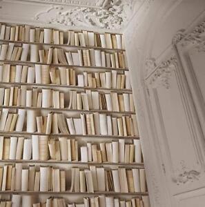 Carta Da Parati In Vinile.Muriva Virtual Reality Libri Libreria Carta Da Parati In Vinile