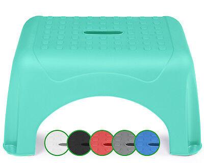 Ondis24 Tritthocker Step Stool Premium mit Antirutschschutz bis 150kg belastbar