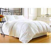 Full Size Comforter Goose Down Style Duvet Blanket Quilt Allergy Relief Bedroom
