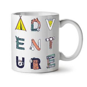 Adventure NEW White Tea Coffee Mug 11 oz | Wellcoda