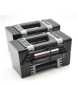 NEW-Powerblock-Elite-EXP-5-50-lbs-Adjustable-Dumbbell-Set-Pair-2020-Model