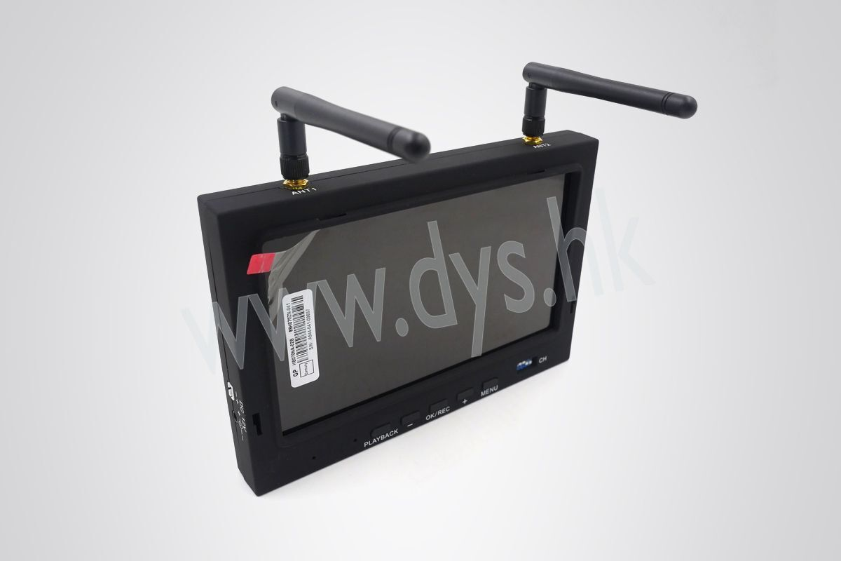 Monitor DYS 700D con DVR 7 pollici con  diversity integrato 32 ch  vendita online risparmia il 70%